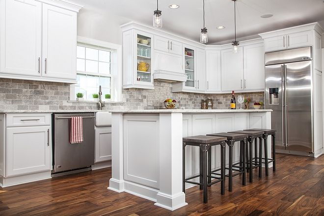 Best Pure White Sherwin Williams Kitchen Cabinet Paint Color 640 x 480