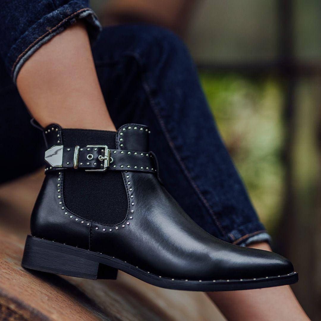 Boots by Deichmann   Schwarze stiefeletten, Stiefel und