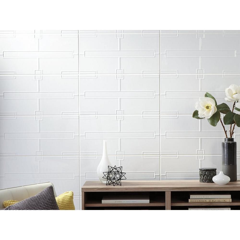Maddox White Ceramic Tile Floor Decor White Ceramic Tiles Ceramic Tiles Ceramic Floor Tiles