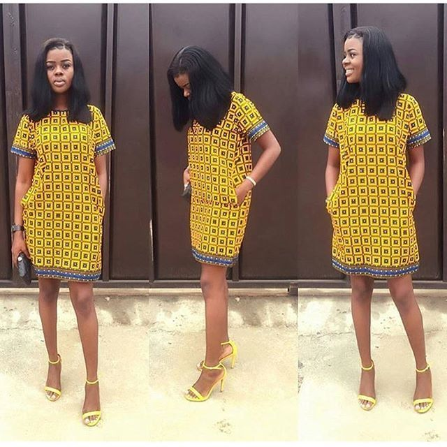 Simple And Unique Ankara Short Gown Styles You Need Rock