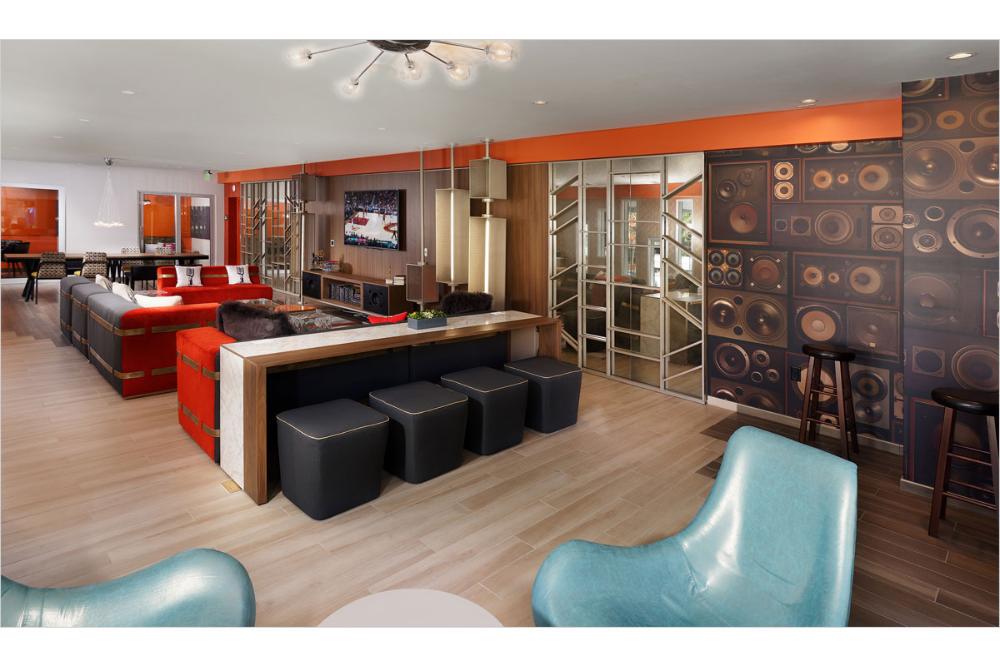 Ava Studio City Degen Degen Interior Design Awards Apartment Communities Studio City