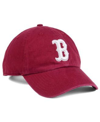 cfa425280 47 Boston Red Sox Cardinal and White Clean Up Cap | Products ...