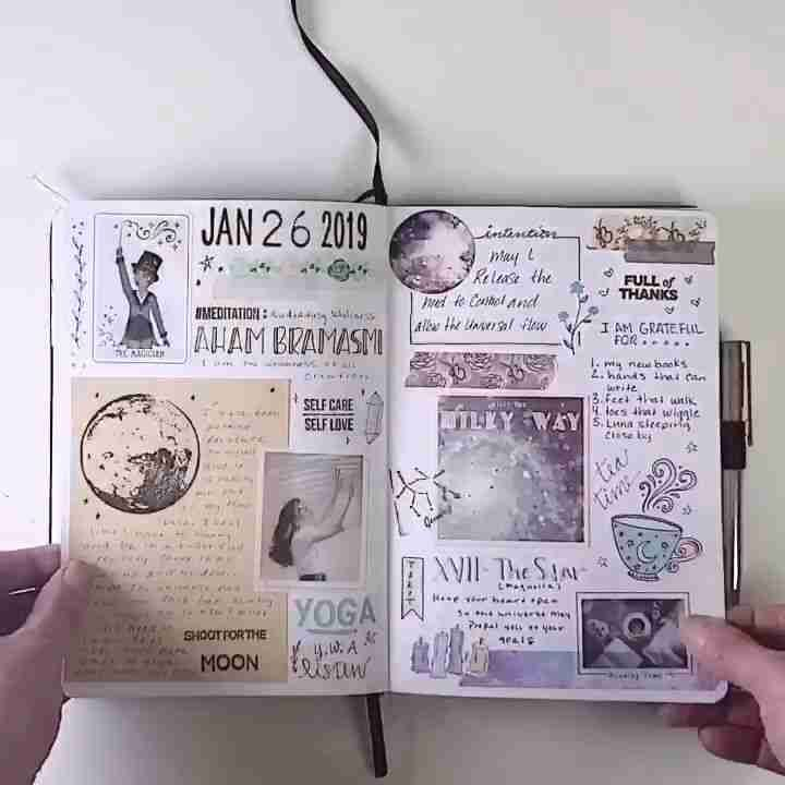 Bullet Journal flipthrough