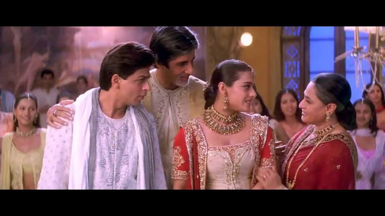 Bole Chudiyan Kabhi Khushi Kabhie Gham 2001 Full Video Song Hd 720p Songs Shah Rukh Khan Movies Bollywood Songs