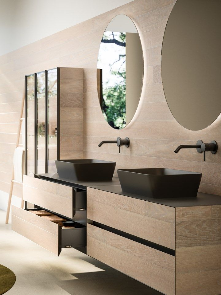 Progetto Bagno by Itlas presents Linea The bathroom collection made ...