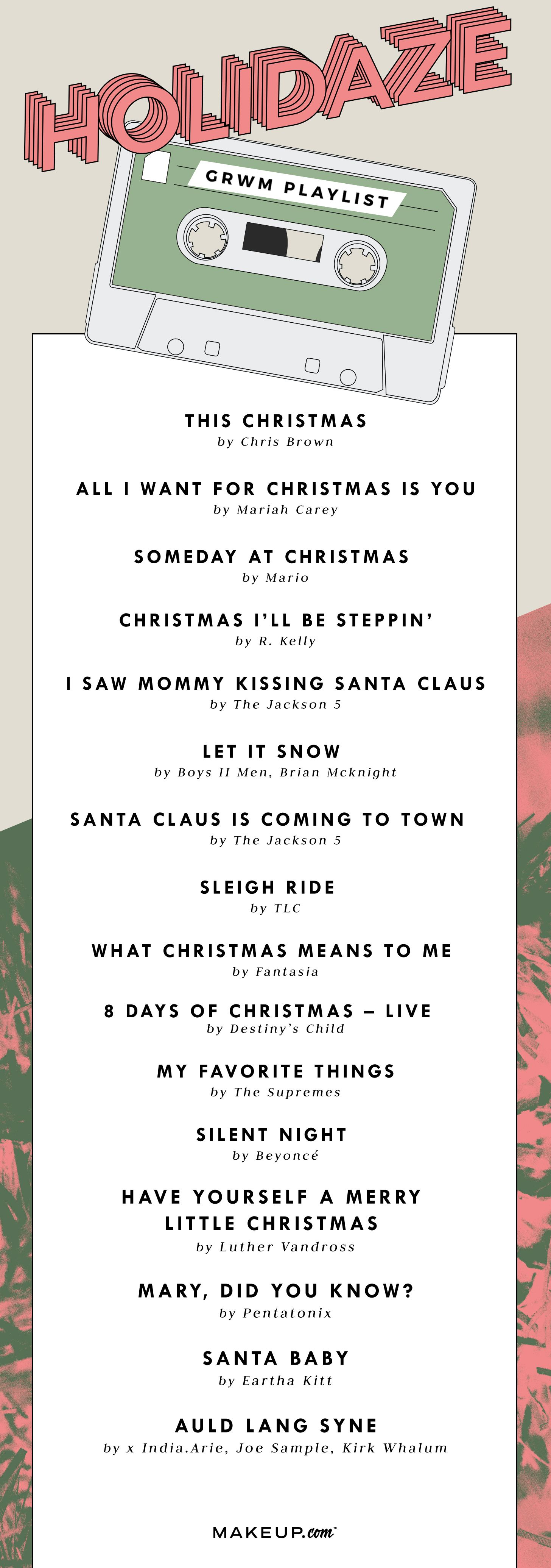 Grwm Playlist Chill Holidays Holiday Music Playlist Music Playlist Playlist David guetta light my body up feat nicki minaj & lil wayne. pinterest