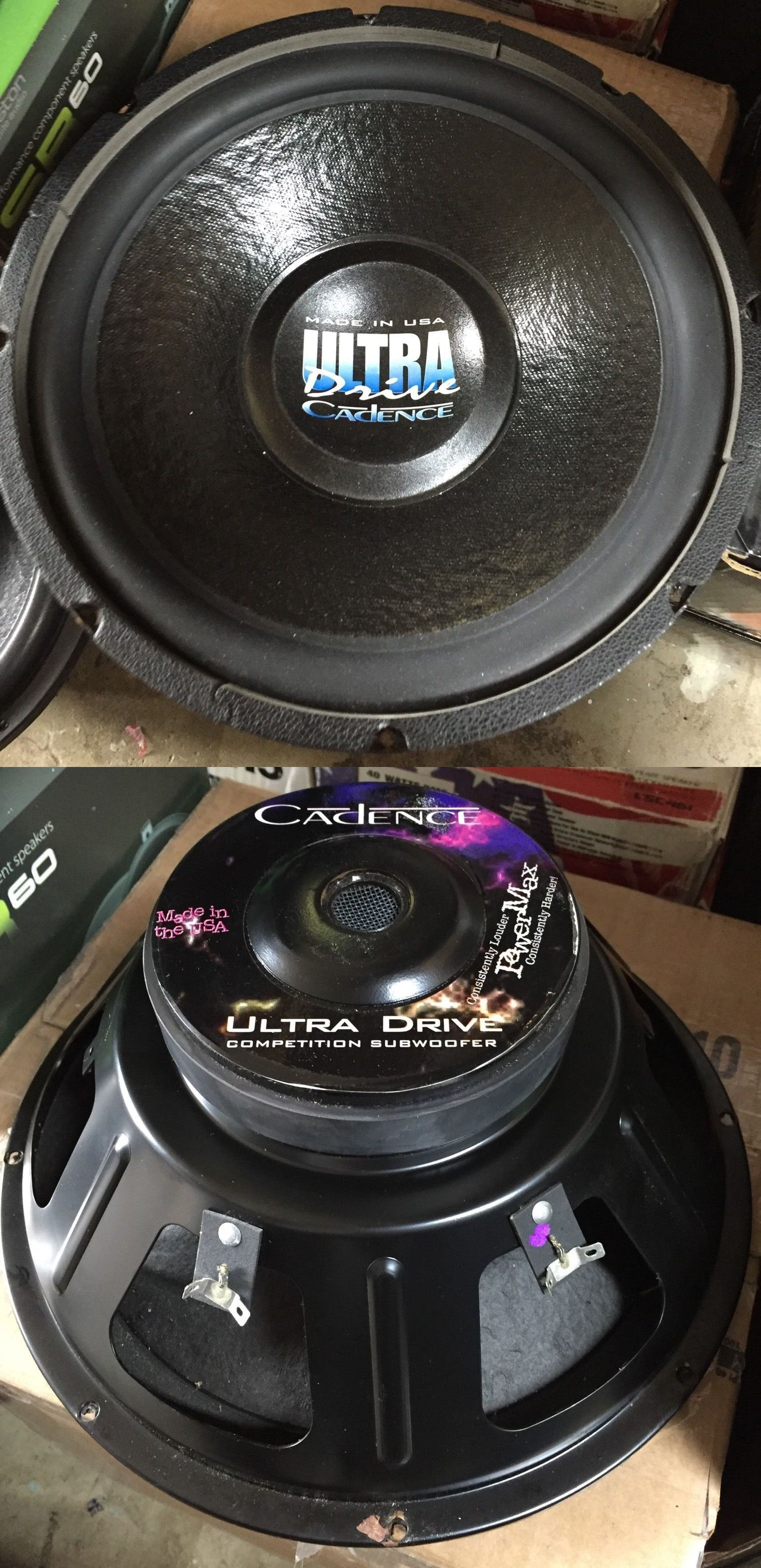 Cadence - Ultra Drive DVC 12 inch Subwoofer 300w | Car Audio