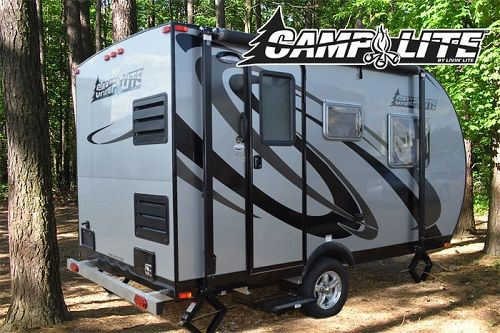 Camplite 13qbb All Aluminum Automotive Travel Trailer