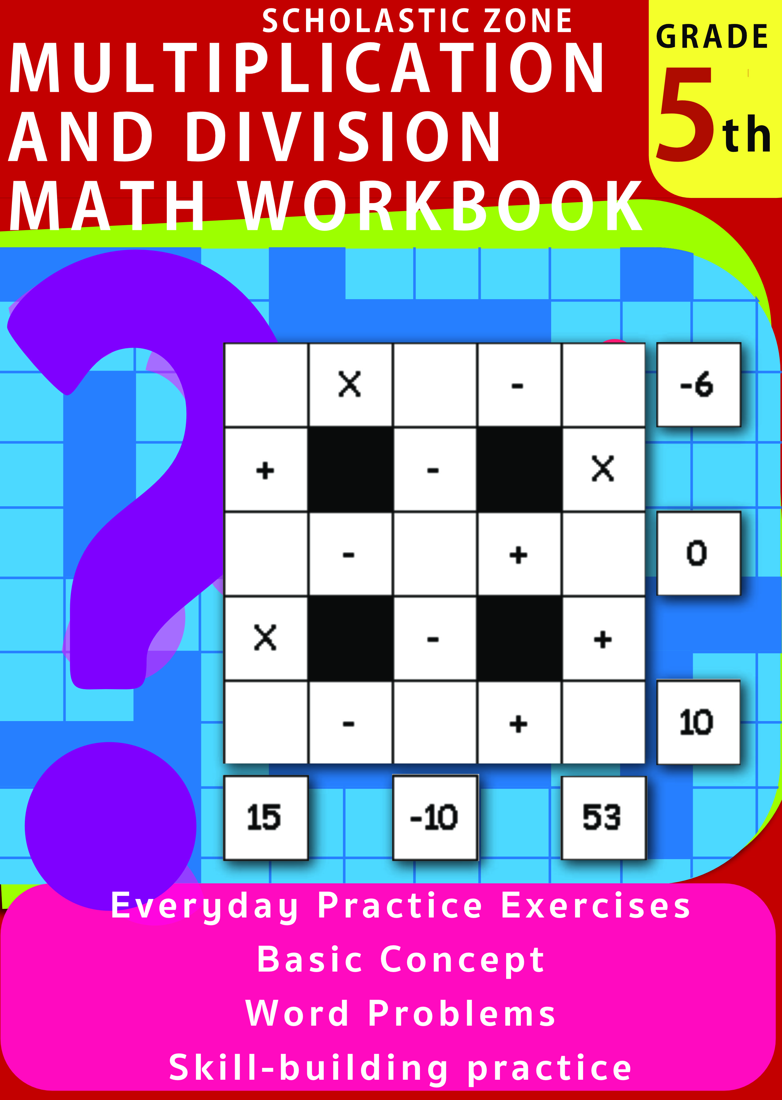 Multiplication And Division Math Workbook 5th Grade