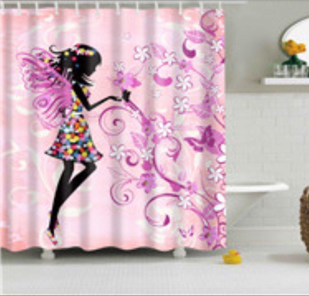 Fairy Shower Curtain Gardiner