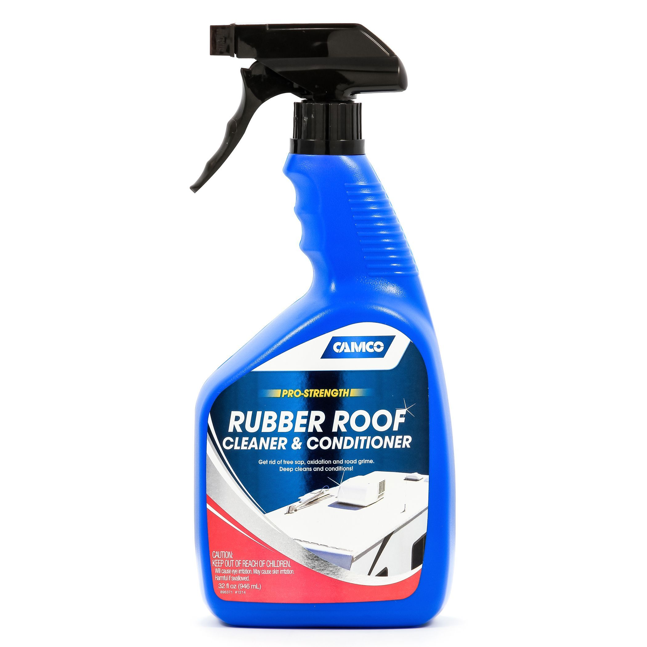 Camco 41063 Rubber Roof Cleaner Conditioner For Rv Camper Or Trailer Other Car Garage Item Blue Roof Cleaning Camco Vinyl Roofing