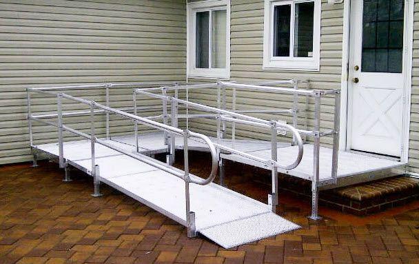 national ramp platforms for modular wheelchair ramps : wheelchair