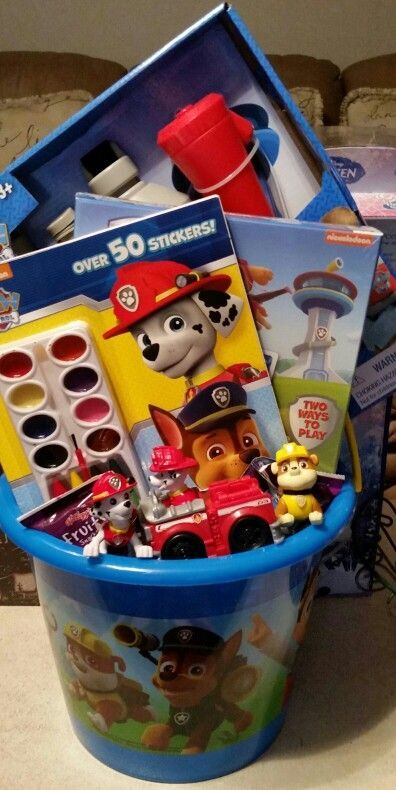 Paw patrol easter basket paw patrol party ideas pinterest giving someone a special gift this easter with a personalized easter basket negle