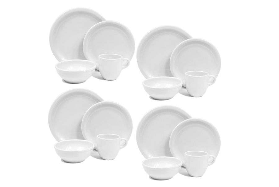 American Bistro 16 Piece Dinnerware Set 4 Place Settings With