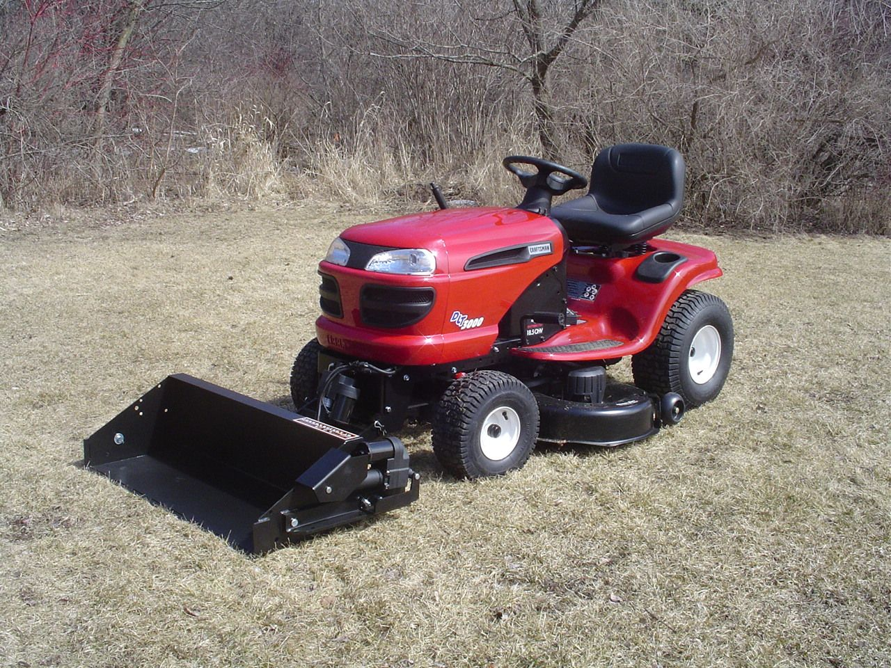 Johnny Bucket Jr Craftsman Lawn And Yard Tractors Yard Tractors Tractor Idea Tractors