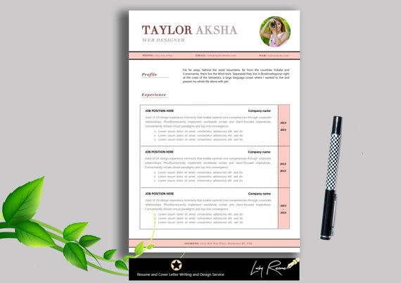 Cv Document Resume Template  Resume Design Professional Cv  Cover Letter .