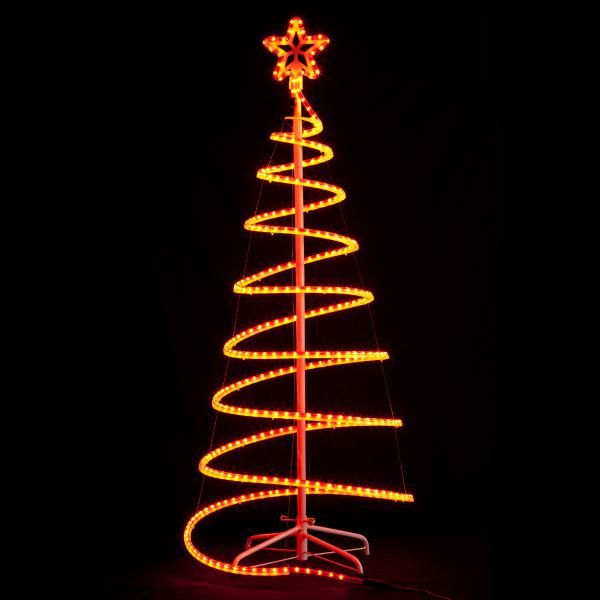 Rope light tree festival of lights pinterest lighted trees rope light tree aloadofball Gallery