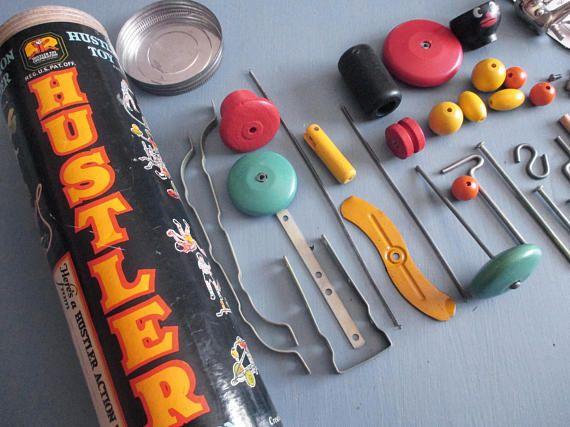Something is. hustler wooden toys