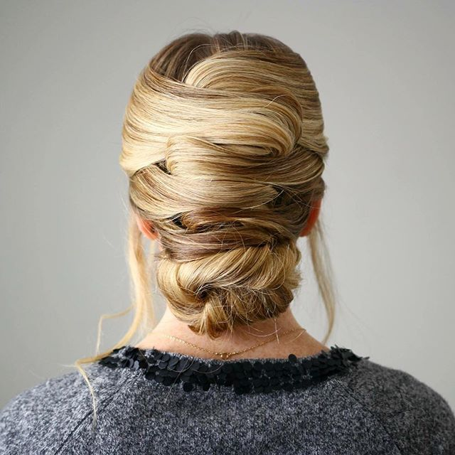 Criss-Cross Wrapped Updo  A new tutorial on MissySue.com! Video link in my bio! #missysueblog