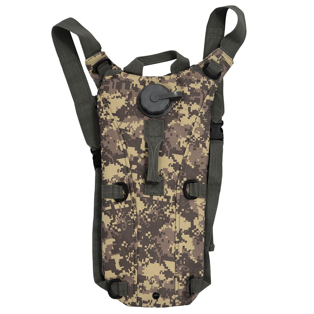 Camouflage Water Bladder Bag Hydration System Backpack Pack Hiking Camping