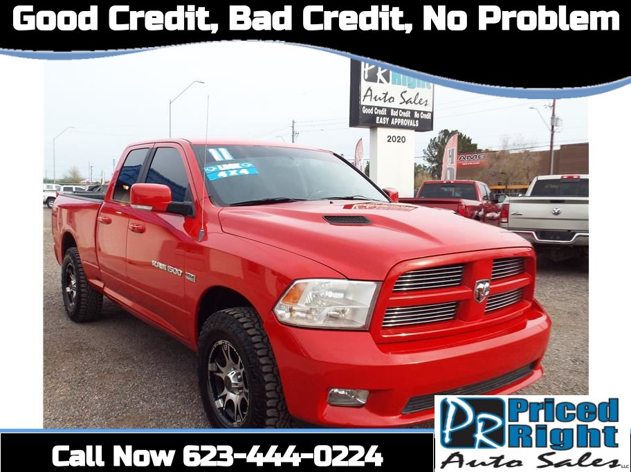 2011 Ram 1500 Quad Cab from Priced Right Auto Sales in