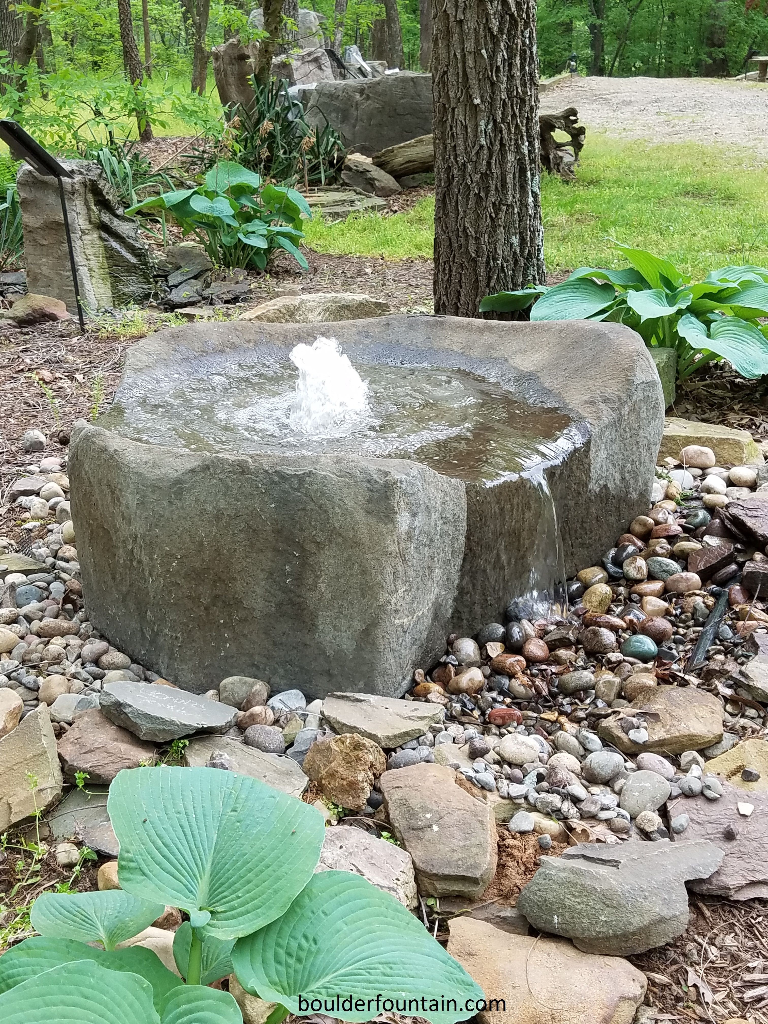 Kentucky Basalt Bowl Garden Fountain For More Info Including Videos Pricing Visit Us At Www Bo Water Fountains Outdoor Stone Water Features Garden Fountains