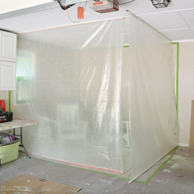 Diy Garage Paint Booth Garages How To Painted Furniture