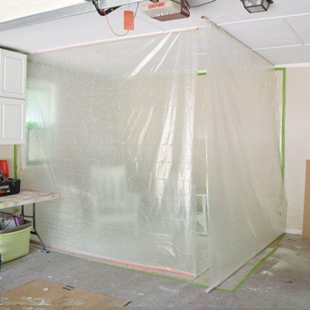 Diy Garage Paint Booth Garage Paint Garage Decor Diy Projects Garage