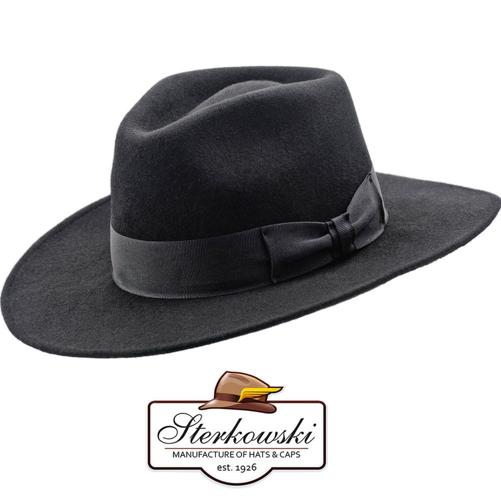 74ef80fa4 Details about Classic Fedora Chicago; Ranger Gangster Outback ...