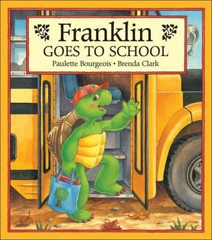 Starting School Is Scary For Many Students Whether It S Kindergarten Or Moving To A New School Students Co Franklin Books Childhood Books Franklin The Turtle