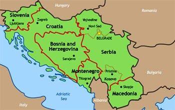 Republik Eusosialis Tawon Makna Bendera Negara Negara Pecahan Yugoslavia Peta Pecahan Bendera