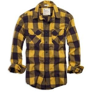 yellow and black plaid shirt - Google Search* | Clothes ...
