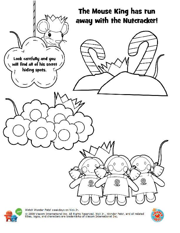 Nutcracker Coloring Book Pages Google Search Lesson Plans