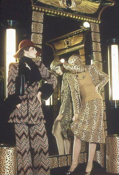 Vintage Biba Barbara Hulanicki Seventies Fashion 70s Vintage Fashion Biba Fashion