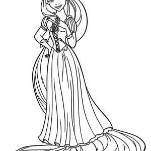 rapunzel and pascal daydreaming coloring page rapunzel and pascal