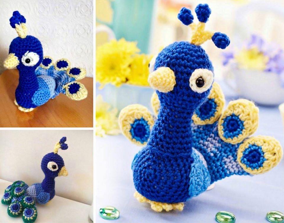 Amigurumi Vivi Free Patterns : Peacock crochet blanket pattern free video tutorial free pattern