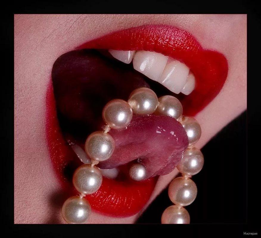 картинки губы бусы том