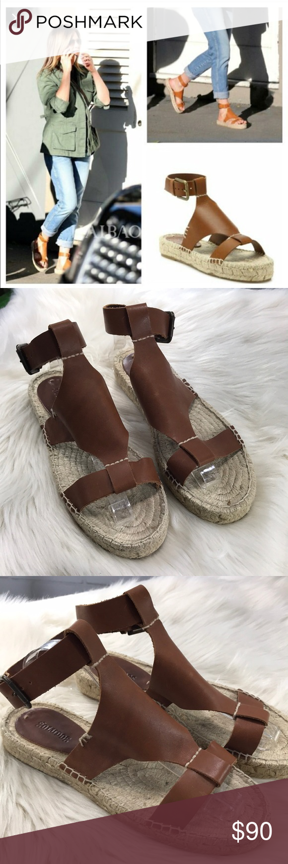 66be220fb02 Soludos Banded Shield Open Toe Espadrille Sandals This is a pair of size 8 Soludos  Banded