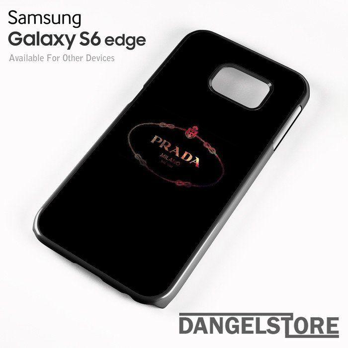 Prada Milano 1 - samsung galaxy case - samsung galaxy S6 Edge - DANGELSTORE