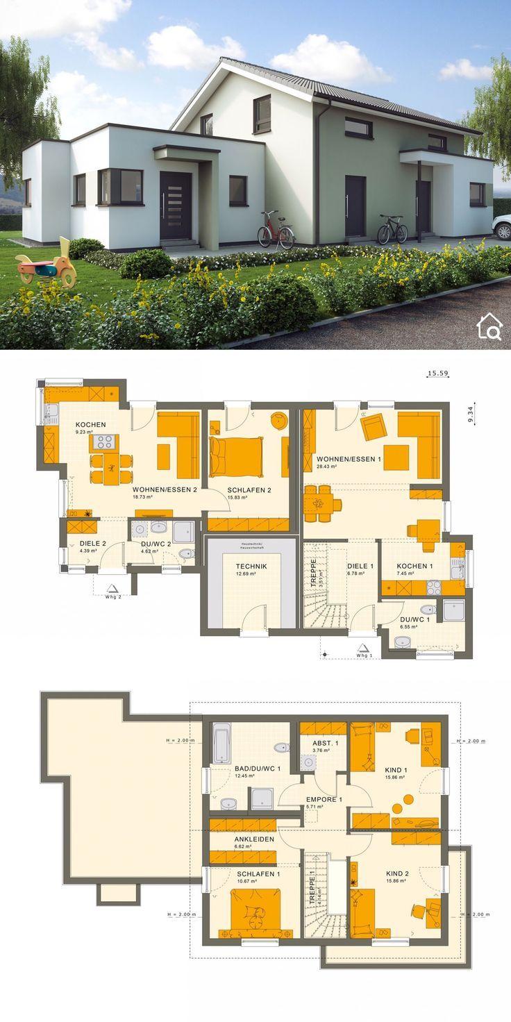 Einfamilienhaus Mit Einliegerwohnung Im Erdgeschoss Anbau