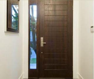 Fotos y dise os de puertas chapas de seguridad para for Modelos de puertas de madera para puerta principal