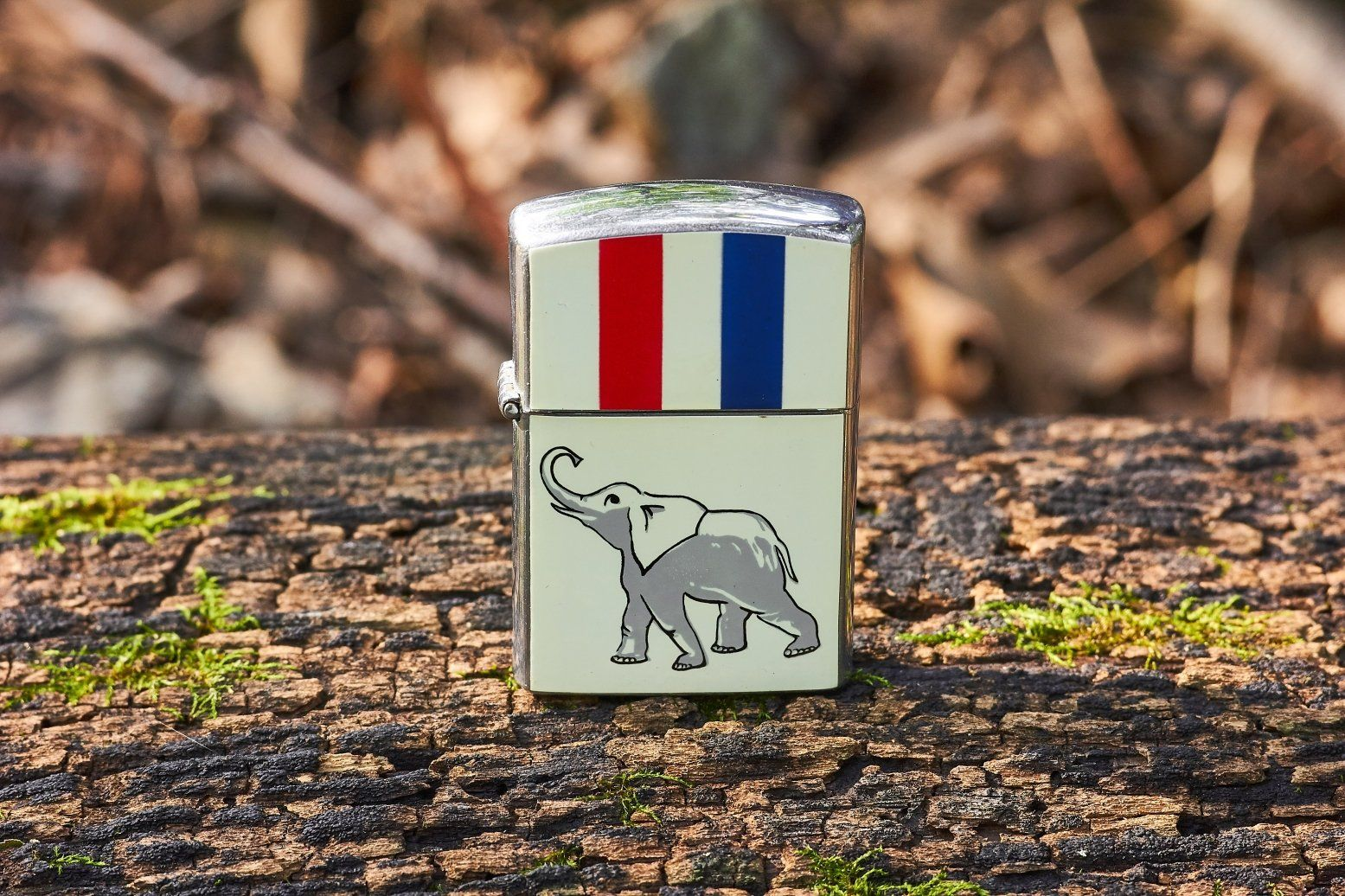 Vintage Amico Imports GOP Donkey Lighter 1964