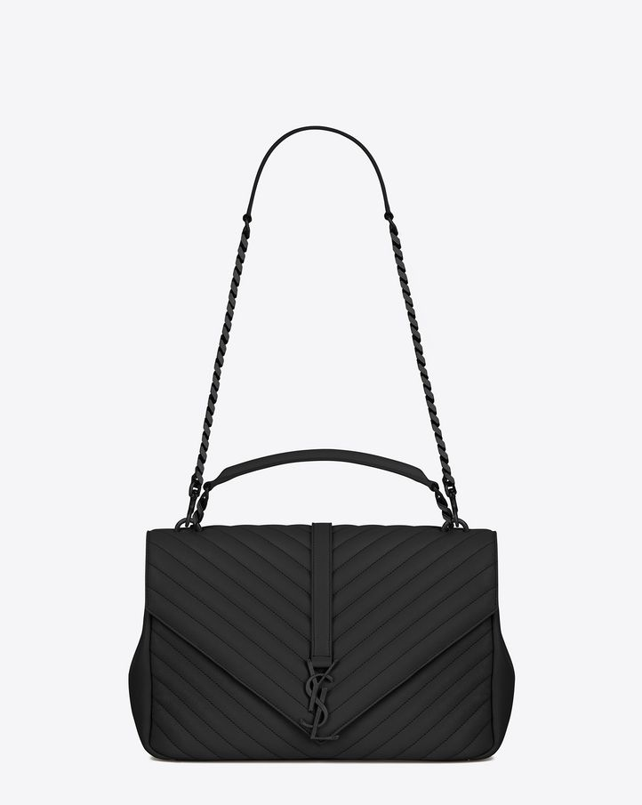 8b8c22f17a5 Saint Laurent Monogram College: discover the selection and shop online on  YSL.com