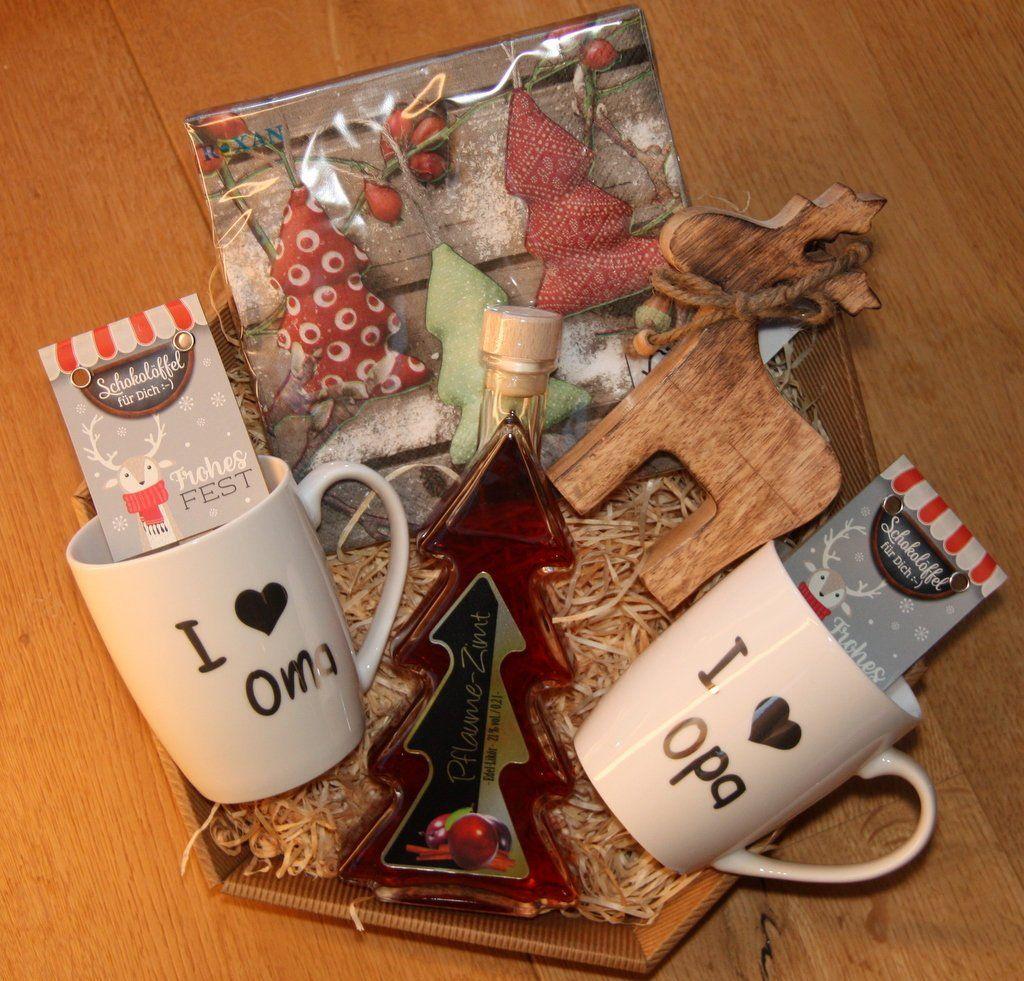 Weihnachten Geschenke für Oma Opa #geschenkideenweihnachteneltern