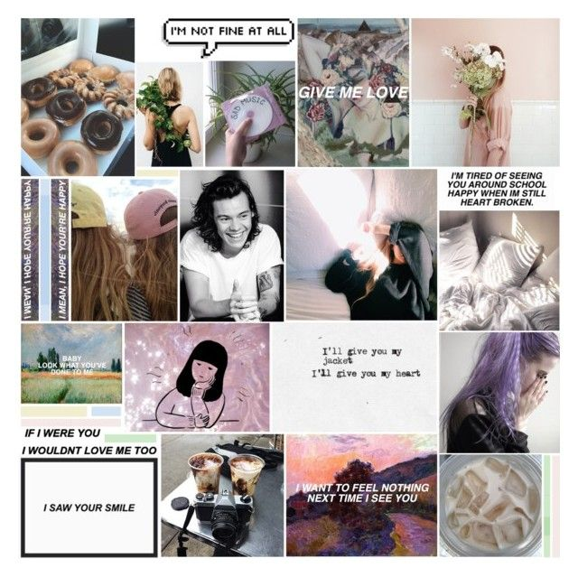 """""""do you still not care"""" by pxre ❤ liked on Polyvore featuring art"""