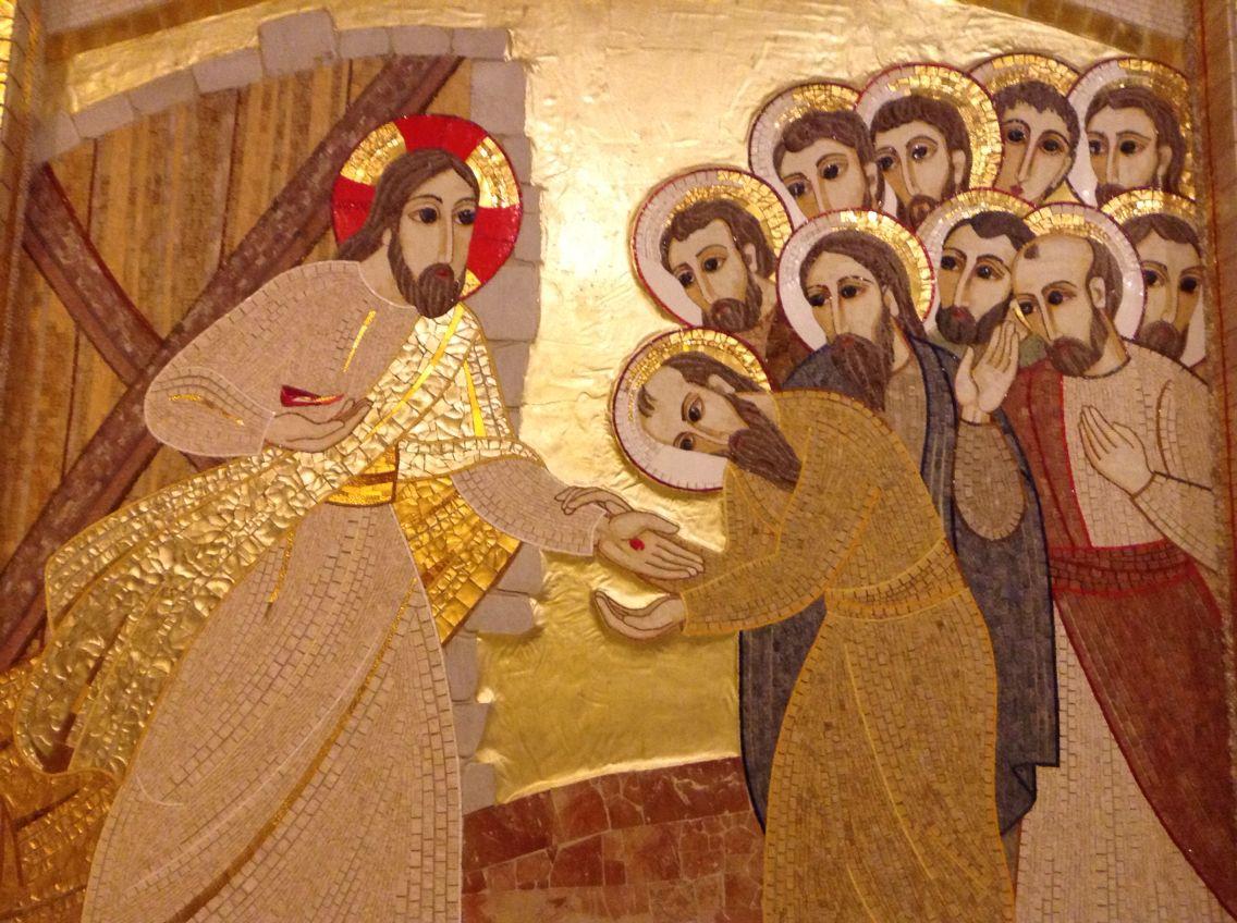 Resultado de imagen de icono resurrección rupnik