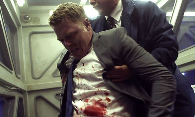 Just watched the fall finale, part 1 of The Blacklist and after that cliffhanger my first thought was 'no, you can't kill him again!' (Diego Klattenhoff ^ also plays Yancy Becket in Pacific Rim. He's already died once this year, dammit!)