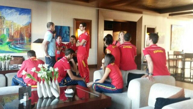 El equipo español ya vela armas en su hotel de concentración de cara a la disputa de la Copa de Europa de marcha #Murcia2015. Podrás seguir en directo todo lo que suceda desde las 08.00 en www.rfea.es