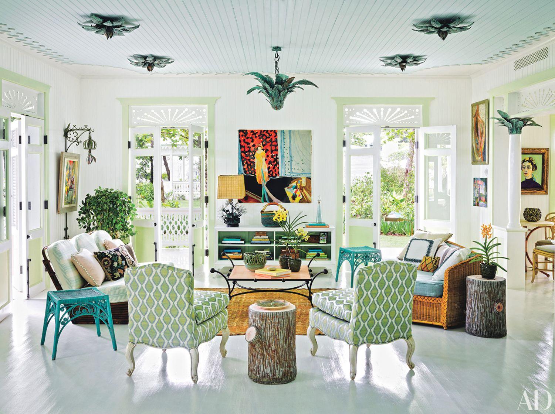 Whimsical Interior Design An Interior Designer's Whimsical Tropical Retreat Interiordesign