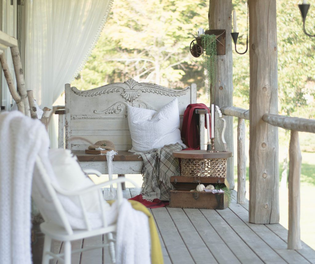 Autumn on the Front Porch Canadian Home Tours Fall